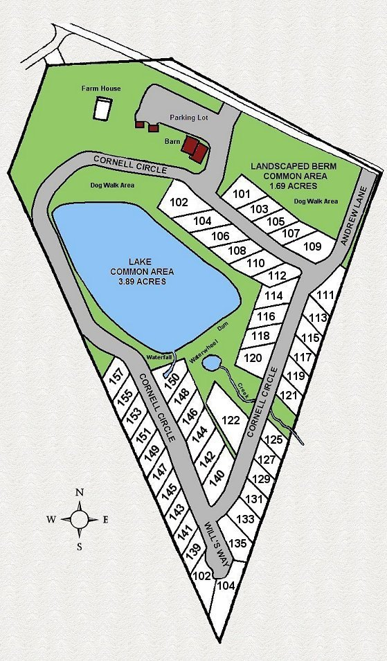 Apple Valley Farm Site Plan
